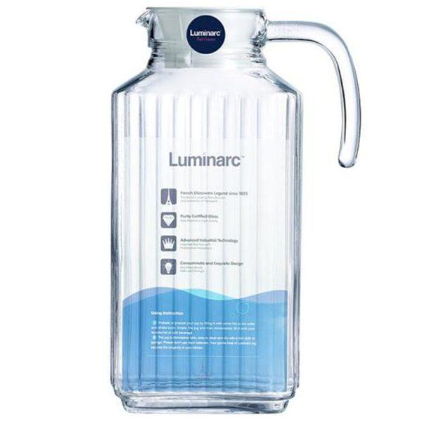 Bình nước thủy tinh Luminarc Quadro 1.7L