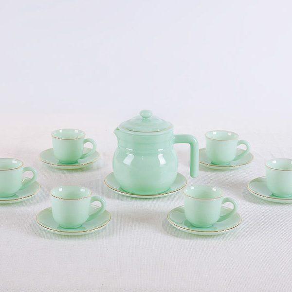 Bộ ấm trà xanh Ngọc Lục Bảo