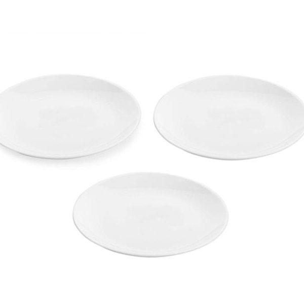 Bộ 3 đĩa thủy tinh Luminarc Diwali 19cm