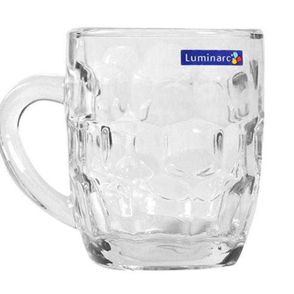 Bộ 6 ly bia thủy tinh Luminarc Britannia 285ml