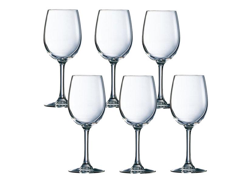 Bộ 6 Ly Rượu Vang Thủy Tinh Luminarc Savoie 170Ml