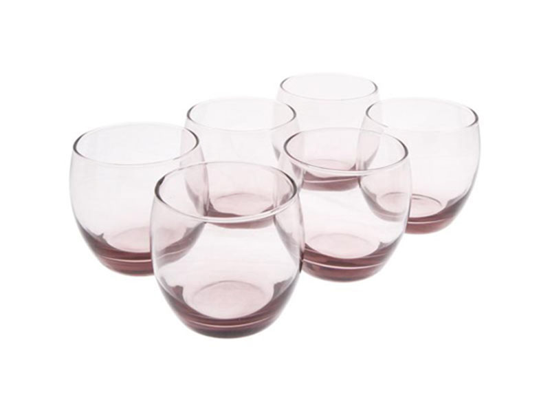 Bộ 6 Ly Thấp Thủy Tinh Luminarc Salto Ice Pink-320Ml