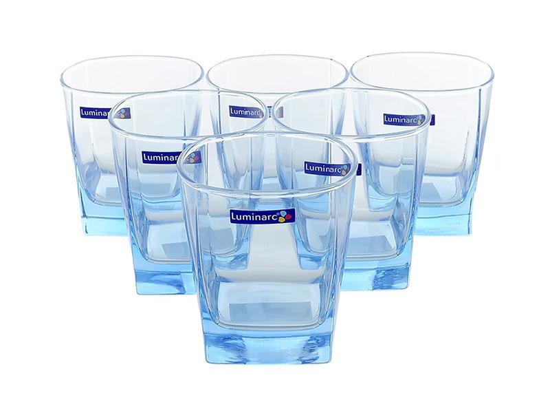 Bộ 6 Ly Thủy Tinh Luminarc Sterling Ice Blue 300Ml