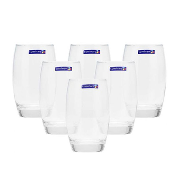 Bộ 6 ly thủy tinh cao Luminarc Salto 350ml