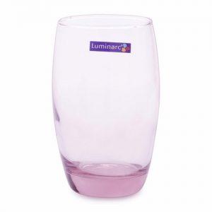 Bộ 6 Ly Thủy Tinh Cao Luminarc Salto Ice Pink 350Ml J5385 Hồng J5385 6 169K