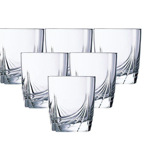 Bộ 6 ly thủy tinh thấp Luminarc Ascot 300ml