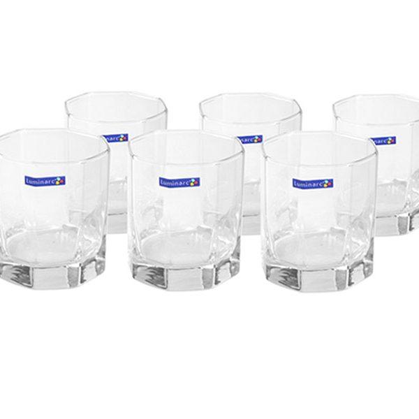 Bộ 6 ly thủy tinh thấp Luminarc Octime 300ml