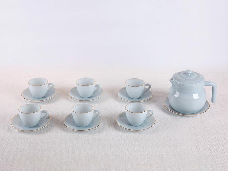 Bộ Cafe Màu Xanh Biển Aquamarine 1580