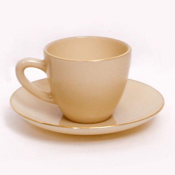 Bộ tách trà màu Nâu Topaz