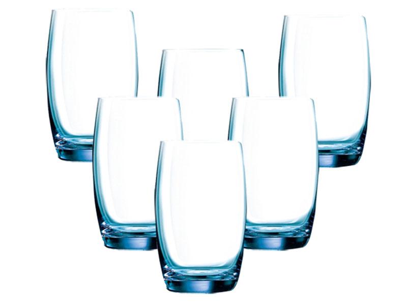 Bộ 6 Ly Cao Thủy Tinh Luminarc Salto Ice Blue-350Ml
