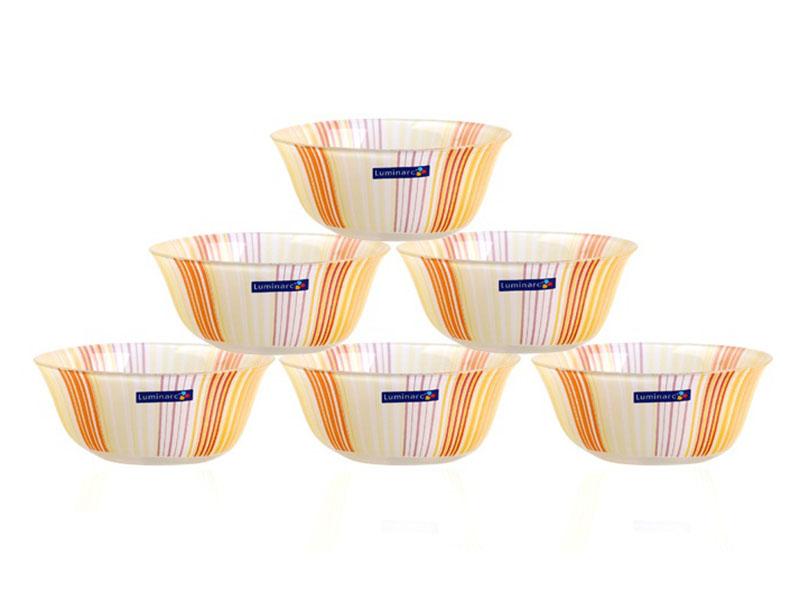 To Thuy Tinh Temp Carina Orange Stripes Bowl 01