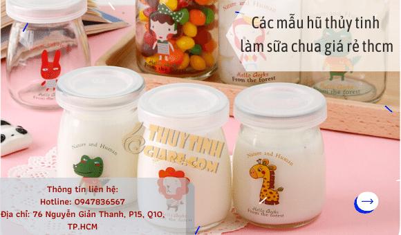 Hũ Thủy Tinh Làm Sữa Chua Giá Rẻ Tphcm