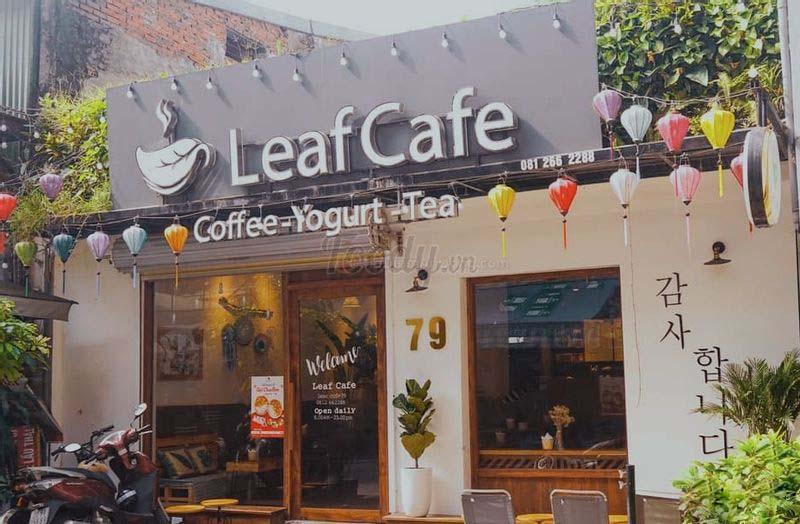 Quán Cafe View Đẹp - Leaf Cafe